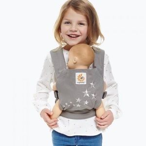Child's Ergobaby doll carrier galaxy, like new